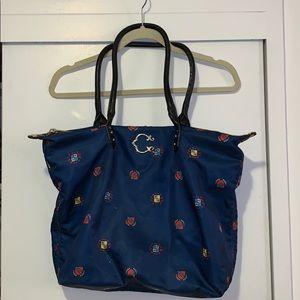 C. Wonder Nylon Tote Bag Navy Large